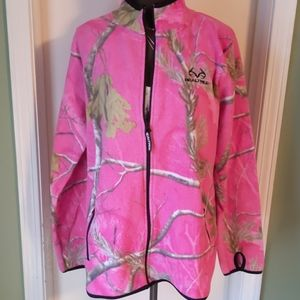 💕Pink Camo Fleece Jacket